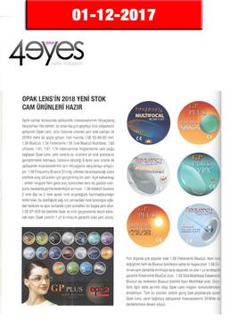 2017 December - 4 Your Eyes Dergisi