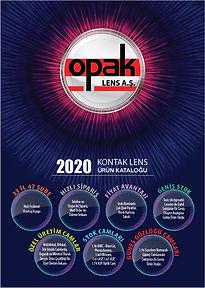 Opak 2020 Lens Katalog Kapak