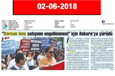 2 June 2018, Başkent Ankara
