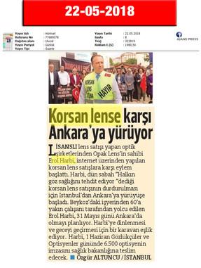 22 May 2018, Hurriyet