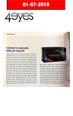 July 2018, 4Your Eyes Magazine