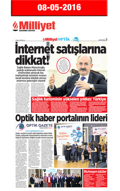 8 Mayıs 2016, Milliyet