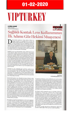 1 February 2020 - VIP Turkey Magazine