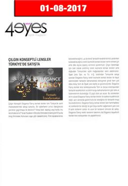 2017 Ağustos- 4 Your Eyes Dergisi