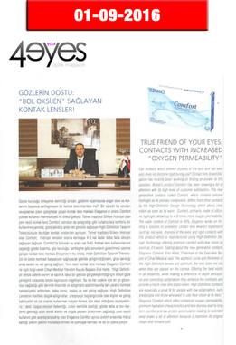 Eylül 2016 - 4Your Eyes Dergisi