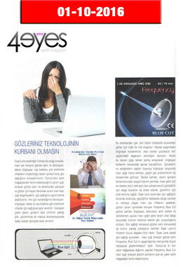 Ekim 2016 4Your Eyes Dergisi