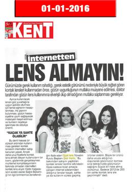 1 January 2016 - Kent Gazetesi