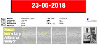 23 May 2018, Bizim Anadolu