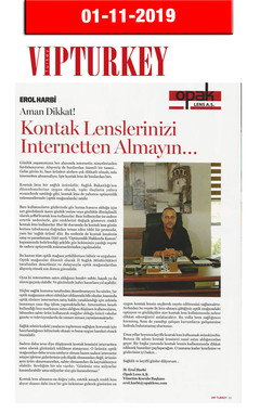 1 November 2019 - VIP Turkey Magazine