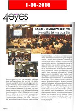 Haziran 2016 - 4Your Eyes Dergisi