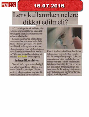 16 July 2016 - Yeni Söz Gazetesi