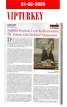 1 Şubat 2020 - VIP Turkey