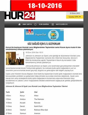18 Ekim 2016 - Hür24