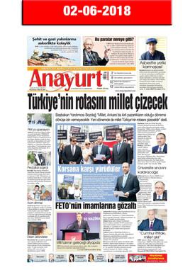 2 June 2018, Anayurt (Cover)