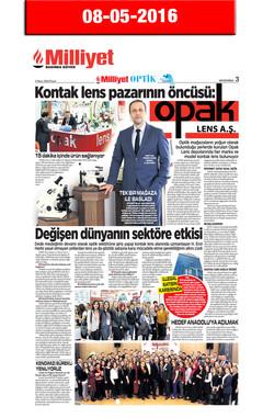 8 May 2016, Milliyet