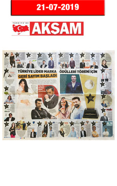 21 Temmuz 2019 - Akşam Gazetesi
