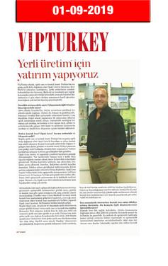 1 October 2019 - VIP Turkey Magazine