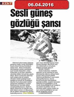 6 April 2016 - Kent Gazetesi
