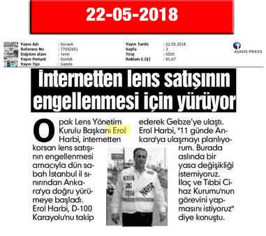 22 May 2018, Kocaeli