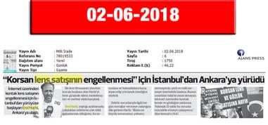 2 June 2018, Milli İrade
