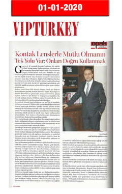 1 Ocak 2020 - VIP Turkey