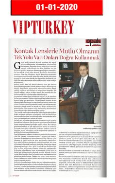 1 January 2020 - VIP Turkey Magazine