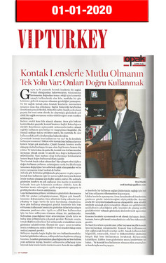 1 January 2020 - VIP Turkey Magazine