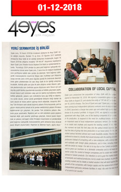 December 2018, 4Your Eyes Magazine