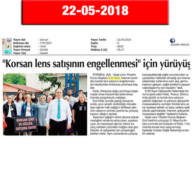 22 May 2018, Son An