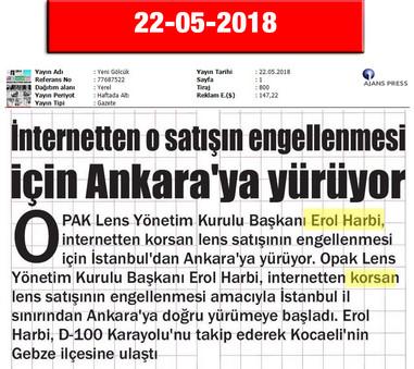 22 May 2018, Yeni Gölcük (Cover Page)