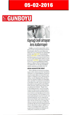 5 Şubat 2016 - Günboyu Gazetesi