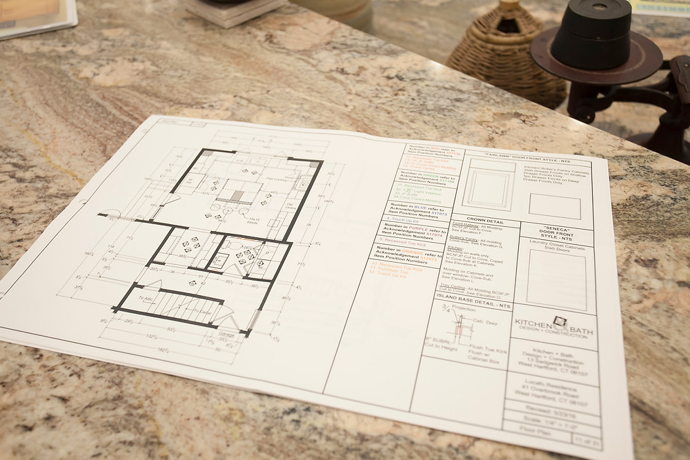 Floor plan for KBDC kitchen project