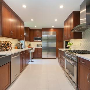 Bold Contemporary Kitchen