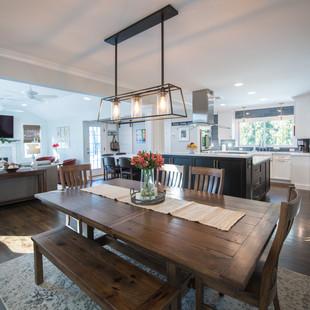 Wide Open-Concept Kitchen
