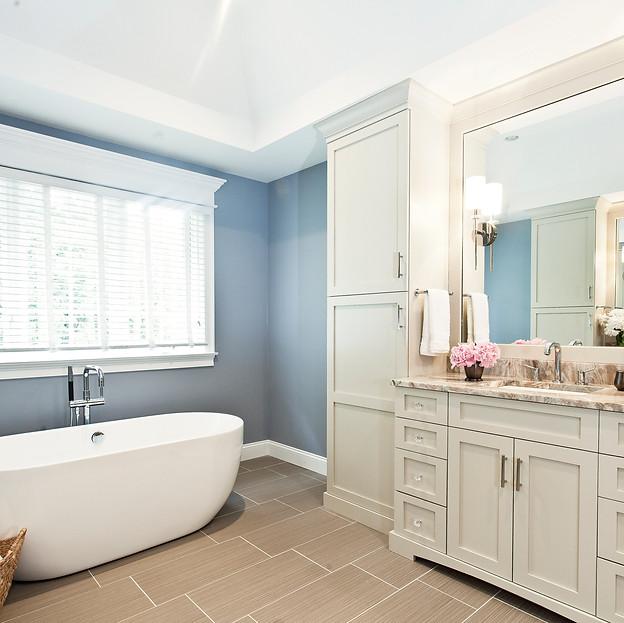 A Spa-like Bath Built for Two