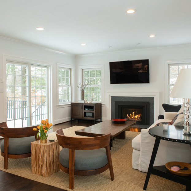 Updated Family Room off a Bright Kitchen