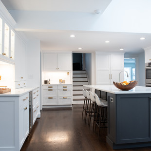 Bright Kitchen Meant for Gatherings