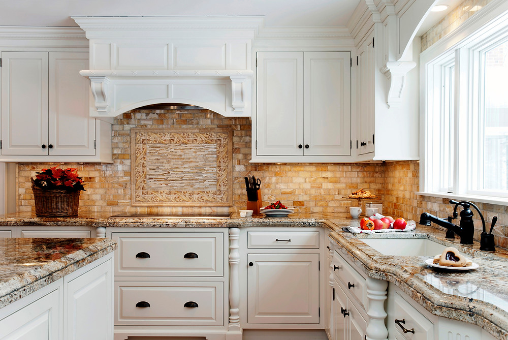white kitchen granite countertops kitchen ideas luxury kitchen