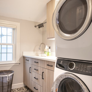 Stackable Washer/Dryer in Laundry Room