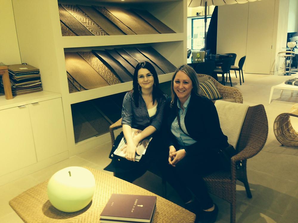 KBDC design staff on a recent trip to the Boston Design Center.