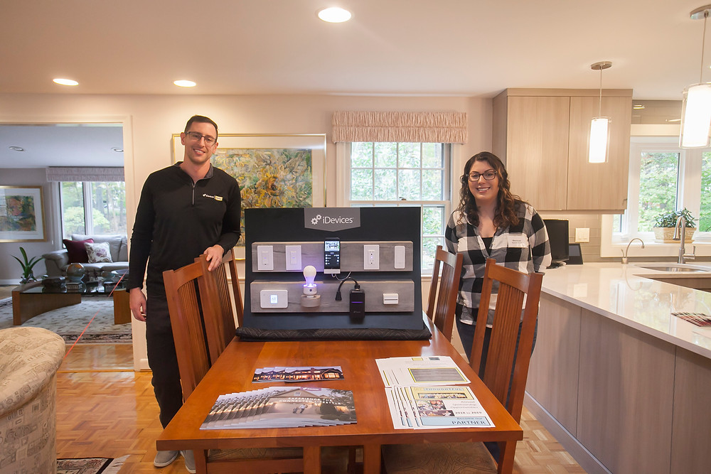 iDevices smart home technology at the kitchen tour