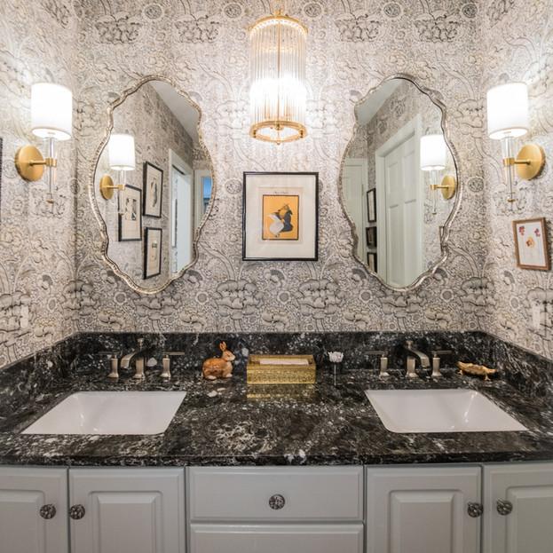 Art Nouveau Inspired Master Bath