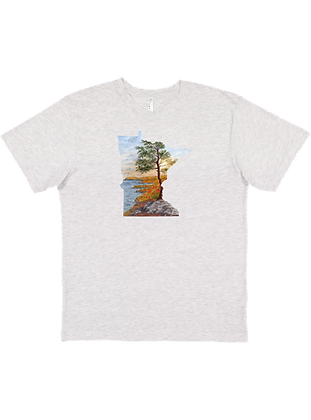 Ash Tee Wholesale Nevada-Wyoming, US Map