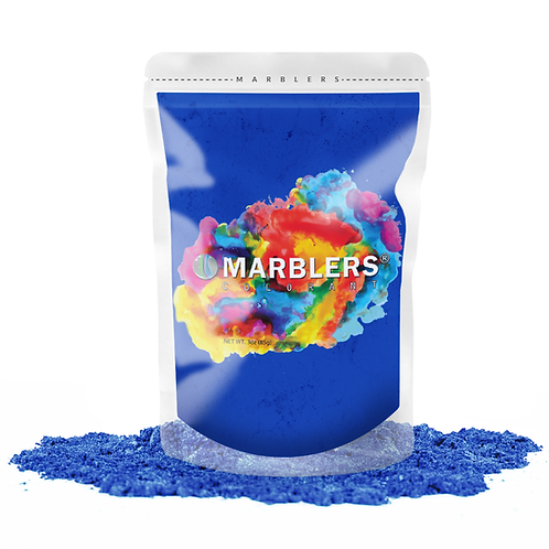 MARBLERS® [Gentle Blue]  Pure Mica Powder Colorant 3oz (85g)