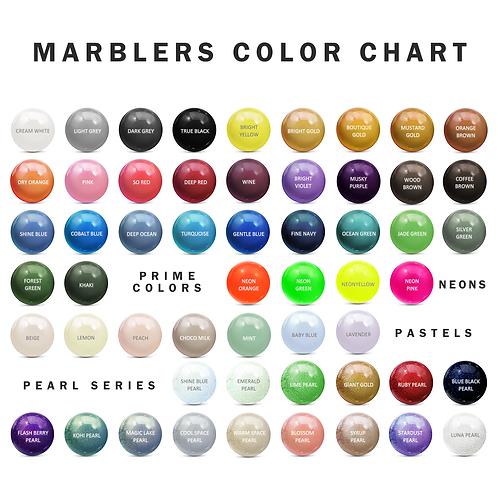 [10+ Bulk Order Discount 10oz] MARBLERS® Pure Mica Powder Colorant 10oz (280g)
