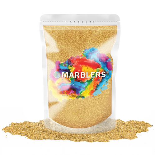 MARBLERS® [Giant Gold]  Pure Mica Powder Colorant 3oz (85g)