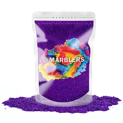 MARBLERS® [Flash Berry Pearl]  Pure Mica Powder Colorant 3oz (85g)