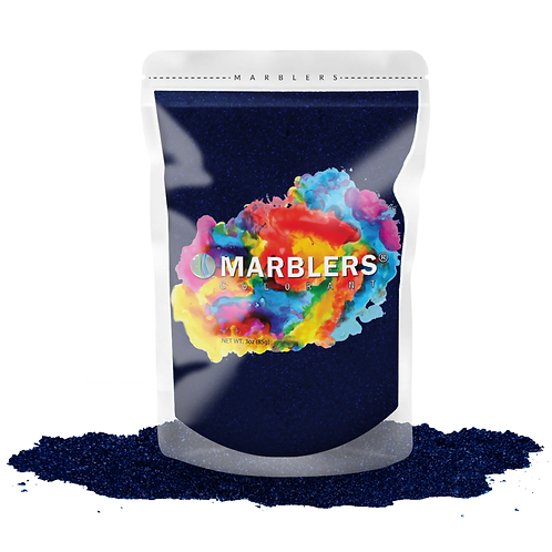 MARBLERS® [Blue Black Pearl]  Pure Mica Powder Colorant 3oz (85g)