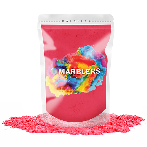 MARBLERS® [So Red]  Pure Mica Powder Colorant 3oz (85g)