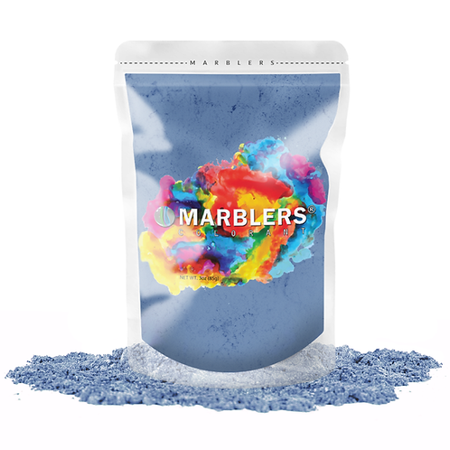 MARBLERS® [Deep Ocean]  Pure Mica Powder Colorant 3oz (85g)